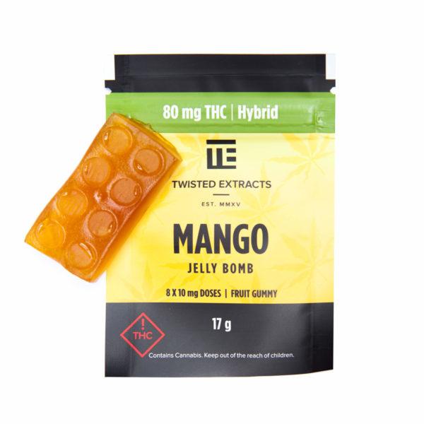 Mango Jelly Bomb Edible