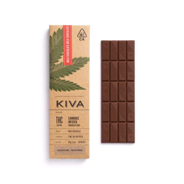 Milk Chocolate Bar 100mg