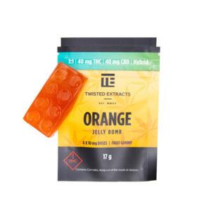 Orange 1:1 Jelly Bomb Edible