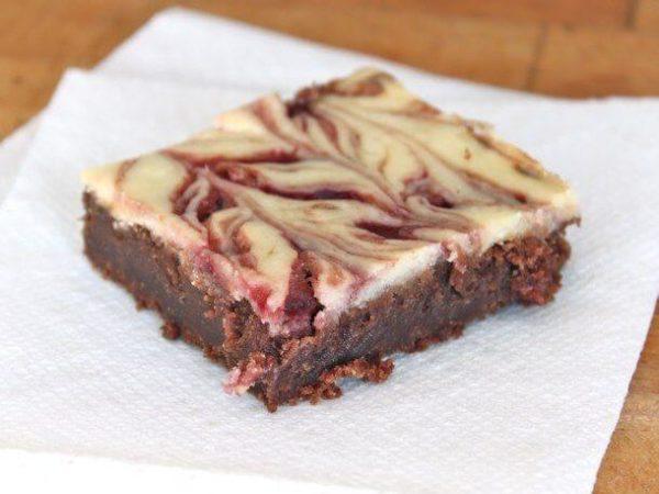 Raspberry Cheesecake Brownie 100mg