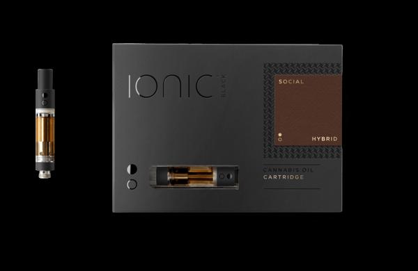 Buy IONIC Cannabis Oil Cartridge