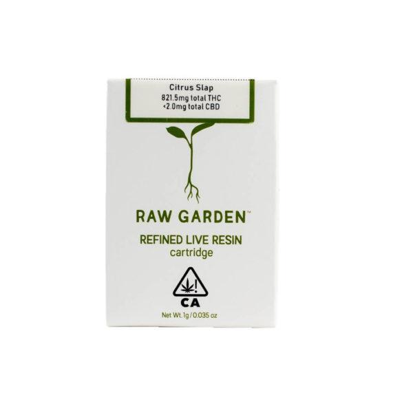 Raw Garden Live Resin Cartridges